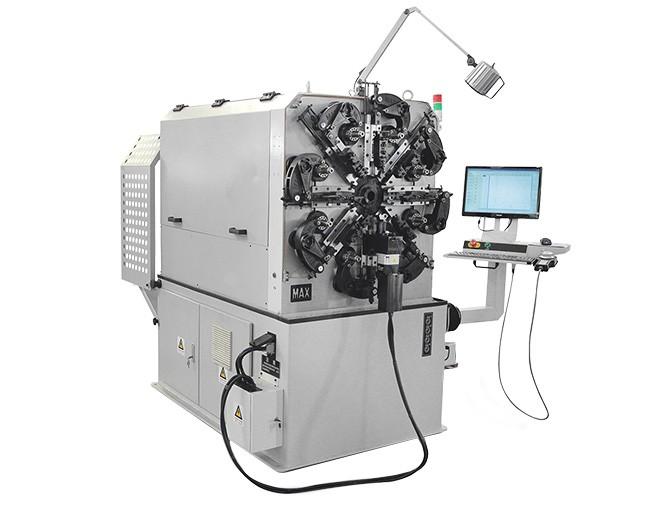 麦斯数控设备介绍什么是无凸轮数控弹簧机?